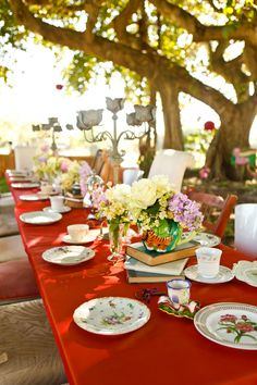 Mad Hatter Baby Shower Tea Party