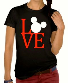 I Love Mickey TShirts by MyClubHouse on Etsy, $16.99