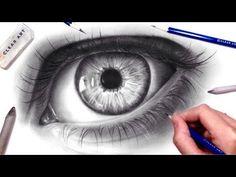 How to Draw a Realistic Eye - YouTube