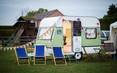 Caravan photobooth Available to see at The Wedding Open Evening 7th July 2015 at Bridge House Barn