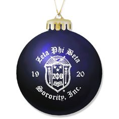 Zeta Phi Beta ornament