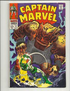 Captain Marvel No. 6 - Marvel Comics Group - October 1968