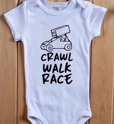 Daddy S Pit Crew Onesie Bodysuit Baby Shower Gift Funny