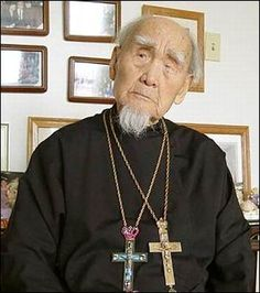 Protopriest Fr.Ilias Wen-Zi-Zheng——The Oldest chinese orthodox priest, died at the age 110 in San Francisco in 2007.