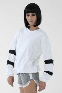 Shop | Nun Bangkok mesh sweater (better in black)