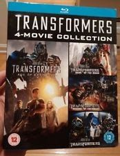 Transformers 1 2 3 4 Movie Collection (Blu-Ray Set)[Region Free]NEW-FreeShipping