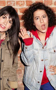 My dream girls. Broad city