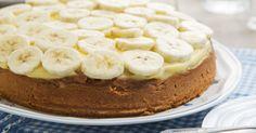 Recept voor Romige Bananentaart