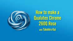 He's won countless awards at global events like the World Balloon Convention, and now you can learn how to make a stunning Qualatex Chrome Rose from the. Balloon Flowers, Balloon Garland, Balloon Decorations, Beauty And The Beast, Beauty Beast, Balloon Animals, Party Planning, Kai, Projects To Try