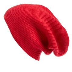 Women's Halogen Slouchy Cashmere Beanie ($45) ❤ liked on Polyvore featuring accessories, hats, pink bright, cashmere beanie hat, slouch beanie, slouchy beanie, beanie hat and slouchy hat