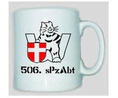 Tasse 506 sPzAbt / mehr Infos auf: www.Guntia-Militaria-Shop.de
