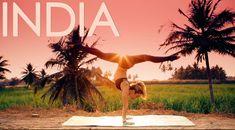 Yoga Demo in India with Kino