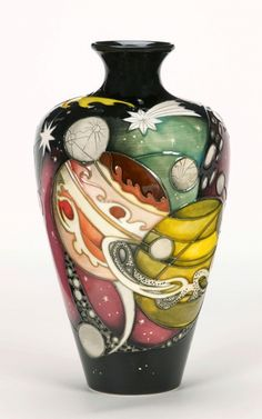 www.cathys-curios.co.uk repinned & tweeted this - Moorcroft Pottery - The Planets - Limited Edition |Pinned from PinTo for iPad|