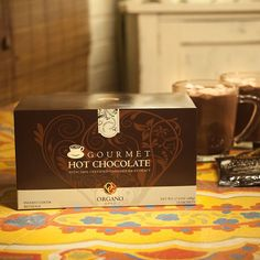 Buy Organo Gold Gourmet Hot Chocolate (Cocoa) With Ganoderma Lucidum - 1 box sachets) - Net Wt. Chocolate Caliente, Hot Chocolate, Chocolate Lovers, Coffee Health Benefits, Coffee Is Life, Black Coffee, Mocha, 3 D, Cool Things To Buy