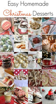 Easy Homemade Christmas Desserts - The Grant Life