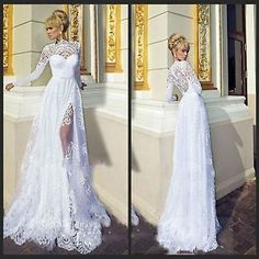 2015 New White/ivory Wedding dress Bridal Gown custom size 6-8-10-12-14-16+++++