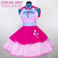 Cosplay Ideas Sailor Party Pony Cosplay Pinafore - Custom cosplay alternatives for the cute enthusiast Kimono Dress, Dress Up, Pinkie Pie Cosplay, My Little Pony Costume, My Little Pony Clothes, My Hero Academia Merchandise, Looks Kawaii, Sailor Party, Alice In Wonderland Dress