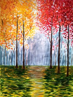 Autumn Trees by NatureWhisper on Etsy
