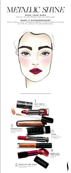 Holiday Get The Look: #Sephora I want the Kat Von D color...geez, I never thought I'd write those words.