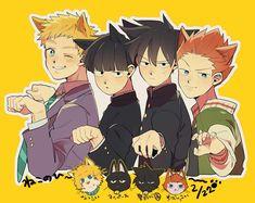 NEKO Manhwa, Mob Physco 100, Mob Psycho 100 Anime, Otaku, Anime City, Fanart, Animal Ears, One Punch Man, Alter