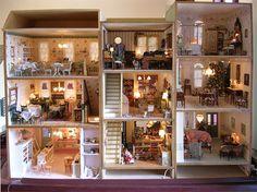 Townhouse Row-miniature shops  ~<3K8<3~