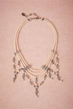 Echelon Necklace from BHLDN- there is something inspiring about this...