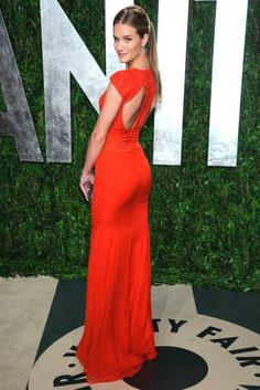 Rosie Huntington-Whiteley at Vanity Fair's post-Oscars party