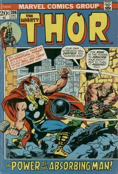 Mighty Thor # 206 by John Buscema