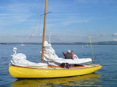 Beaver, XOD looking out for the wind in Oct 2013. She is based at #ItchenorSailingClub