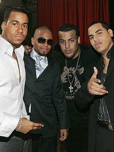 Aventura- My favorite Latin Pop artist group