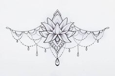 Lotus Flower Tattoo Designs: Painted Graphic Pendant on White .- Lotus Flower Tattoo Designs: Painted Graphic Pendant on White Background. Anklet Tattoos, Forearm Tattoos, Body Art Tattoos, Sleeve Tattoos, Sternum Tattoos, Female Tattoos, Lotusblume Tattoo, Lotus Tattoo, Lotus Flower Tattoo Design