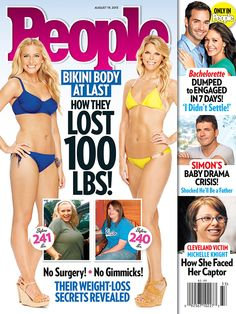 Lindsay K. lost 100 pounds with Jenny!  Pick up the latest issue of People Magazine for the full story on how she got her bikini body back.  Congrats Lindsay—you are a true inspiration!
