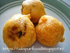 udaipur food channel: Bombay aloo bada