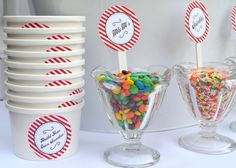 Toppings at an Ice Cream Party #icecream #party