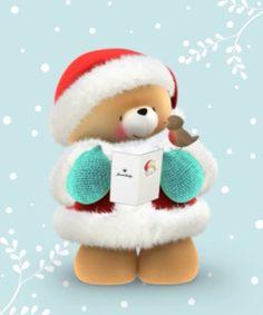 <3 Forever Friends <3 Christmas Scenes, Christmas Wishes, Christmas Art, Teddy Bear Hug, Tatty Teddy, Teddy Bears, Hello Kitty Christmas, Teddy Bear Pictures, Christmas Cartoons