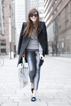 Silver Pants - Style Scrapbook