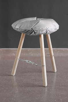 Concrete stool casting experiment by michal marko i don t know if it would be comfortable but i like concept Concrete Stool, Concrete Furniture, Concrete Art, Concrete Design, Furniture Design, Polished Concrete, Concrete Crafts, Concrete Projects, Diy Stool