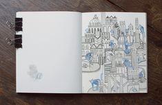 Sketchbook VI on Behance