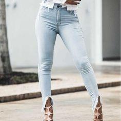 8a6f3ac70f calcas jeans calca original denim franjas na barra - Busca na Like Angels -  Maior Portal de Shorts Jeans