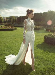 This dress would have to be given a modesty overhaul but it has some elements that could work. However one thing Meghan would not have to worry about reworking is the backdrop for her wedding.  With Kensington Palace as a possible venue Meghan's sure to have a magical setting and some amazing pictures.