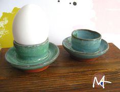 Coquetier Pots, Projects To Try, Workshop, Ceramics, Egg Coddler, Products, Ceramica, Atelier, Pottery