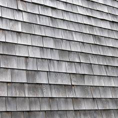 close up of cedar shingles