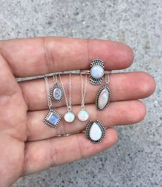 Opal and Moonstone Collection. #moonstone