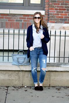 jillgg's good life (for less) | a west michigan style blog: my everyday style: best in blue!