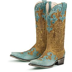 @Overstock - Hand-crafted from distressed leather, these cowboy boots from Lane Boots feature contrasting tonal leather detailing. With pointed toes and a comfortable padded footbed, these boots are finished with a scratched turquoise outsole.http://www.overstock.com/Clothing-Shoes/Lane-Boots-Womens-Dawson-Cowboy-Boots/6322205/product.html?CID=214117 $349.99
