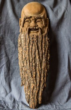 Бородатый старец. Автор: Deng Daohang.