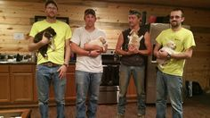 Guys At Bachelor Party Had No Idea They'd End Up Saving Puppies