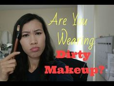 Are you wearing dirty makeup?? Learn how to clean, sanitize and disinfected your makeup and brushes.