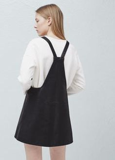 Pockets pinafore dress