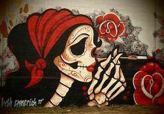 "Artist :Beth Emmerich, ""West Oakland Mural """